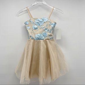 NWT Un Deux Trois Girls Formal Party Dress Size 8